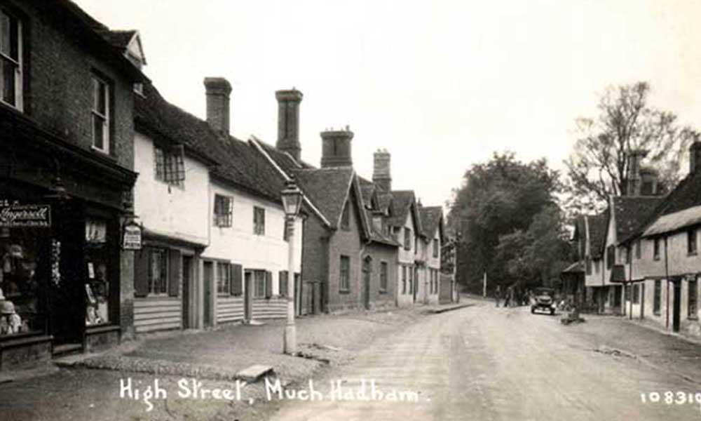 Much Hadham High Street Holland and Barrett, Grocers and Drapers