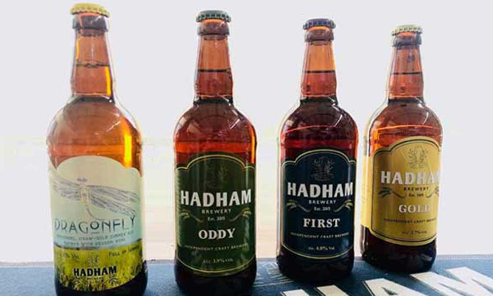 Hadham Brewery bottles