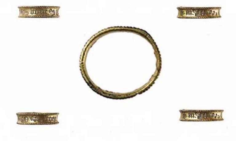 Hadham silver gilt ring