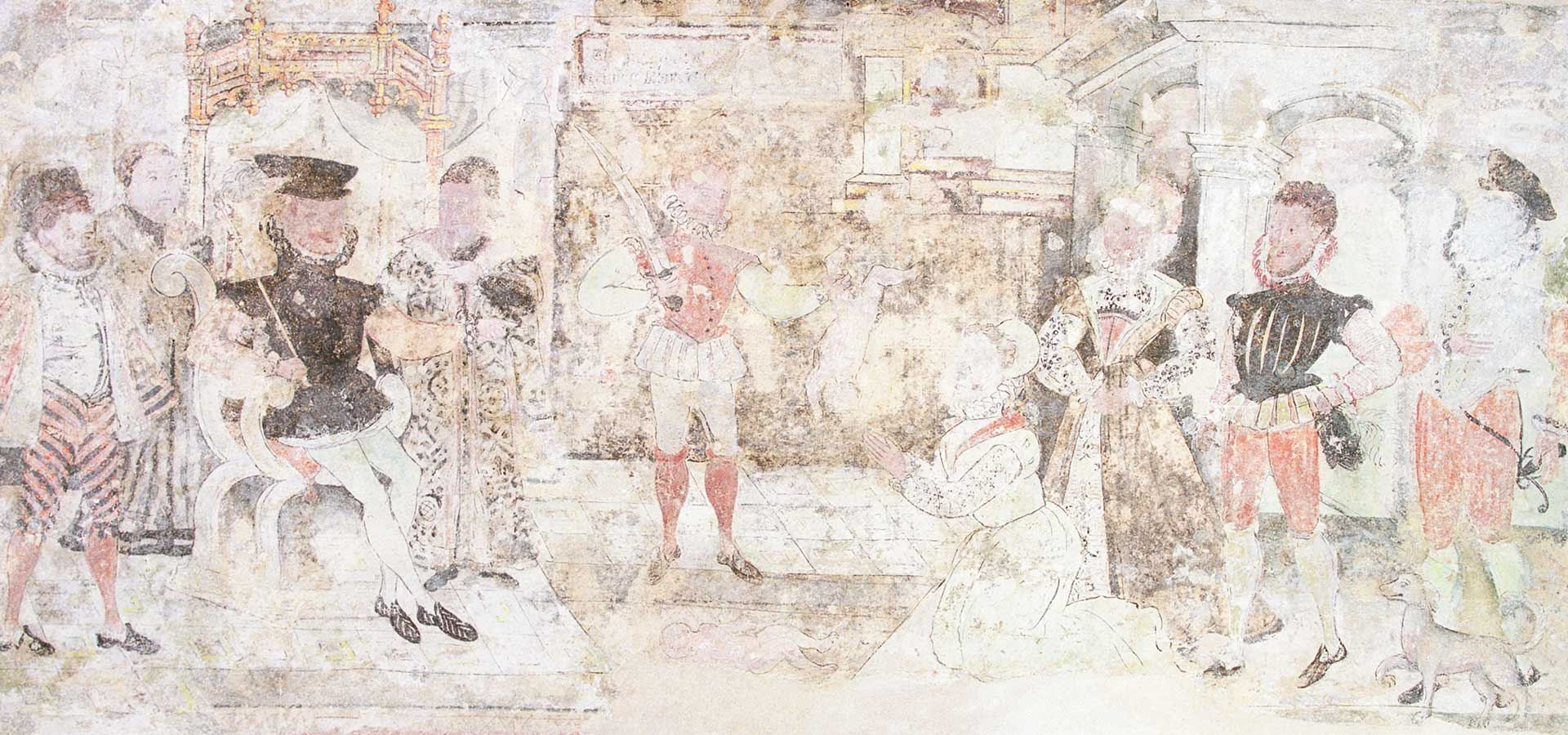 Much Hadham Wall Paintings - header