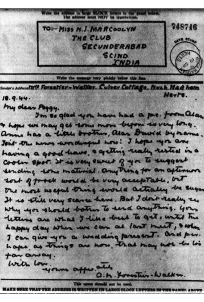 Letter 2 pow camp