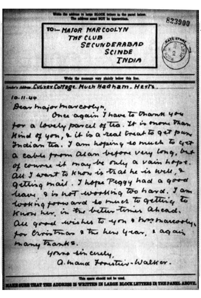 Letter 3 pow camp